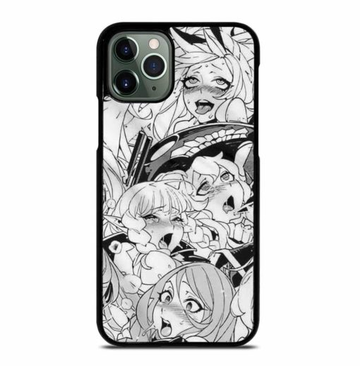 AHEGAO SEXY ANIME GIRLS iPhone 11 Pro Max Case