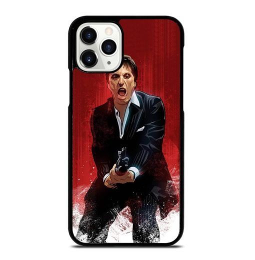 Al Pacino Scarface Drawing iPhone 11 Pro Case