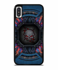 ALIEN SKULL SYMBOL iPhone X/XS Case