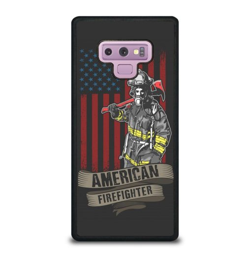 AMERICAN FIREFIGHTER Samsung Galaxy Note 9 Case