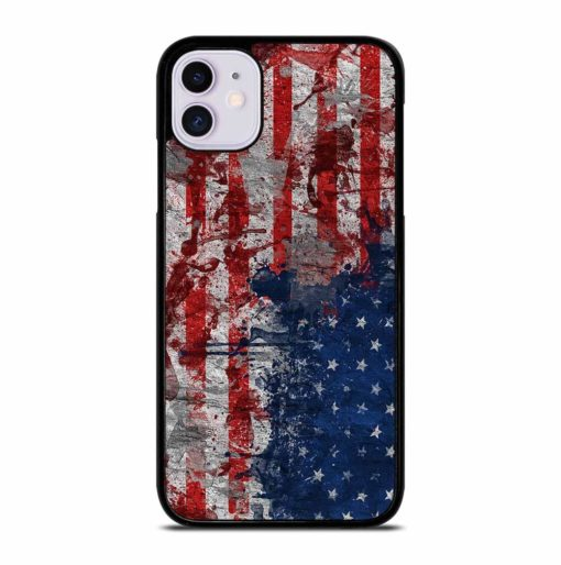 AMERICAN FLAG iPhone 11 Case Cover