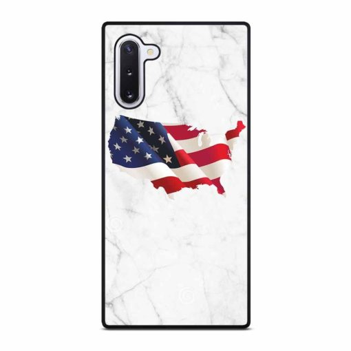 AMERICAN WHITE MARBLE Samsung Galaxy Note 10 Case