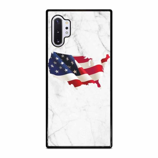 AMERICAN WHITE MARBLE Samsung Galaxy Note 10 Plus Case