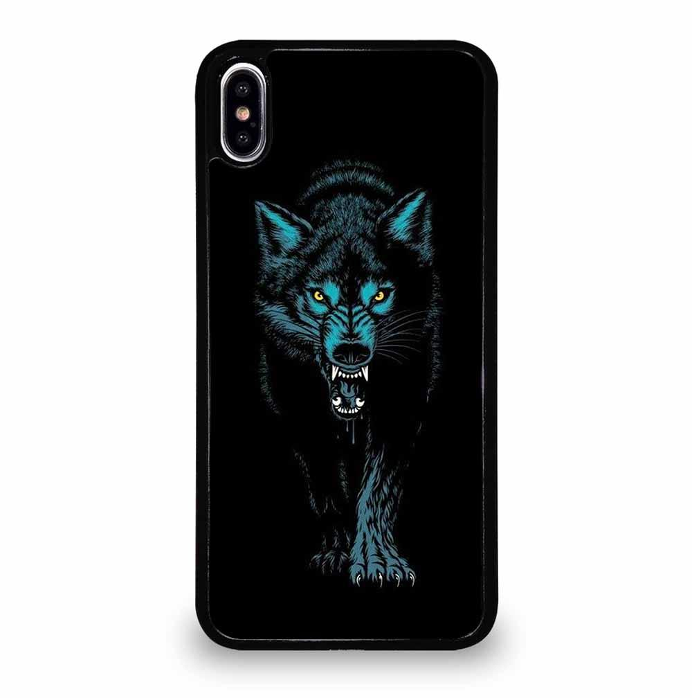 ANGRY WOLF iPhone XS Max Case