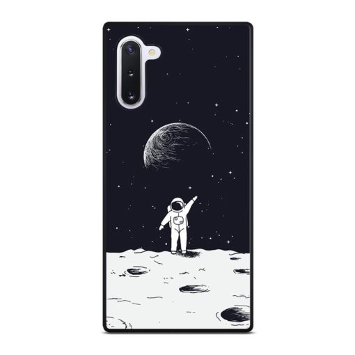 ASTRONAUT STAND ON SURFACE OF MOON Samsung Galaxy Note 10 Case