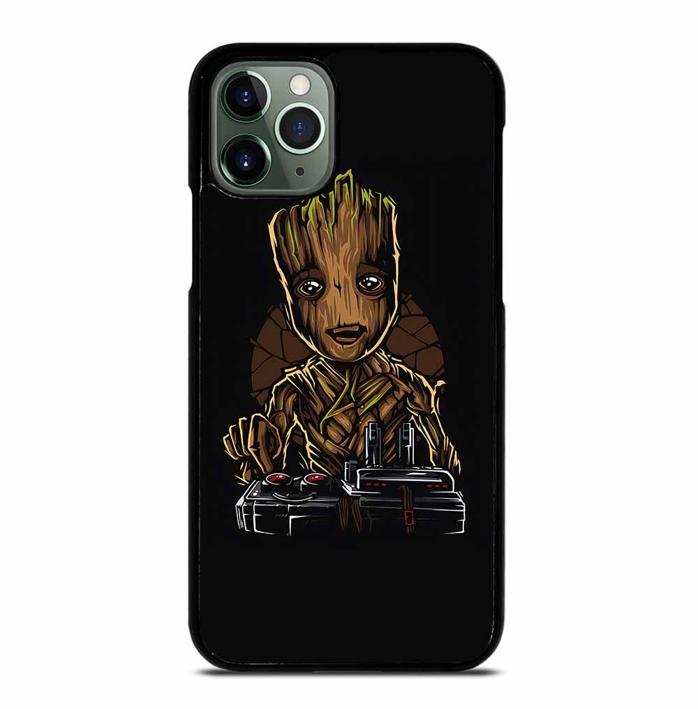 BABY GROOT DEATH BUTTON iPhone 11 Pro Max Case