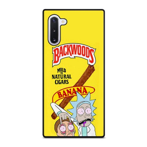 Backwoods Rick And Morty Samsung Galaxy Note 10 Case