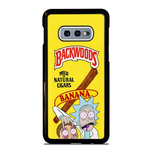 Backwoods Rick And Morty Samsung Galaxy S10e Case