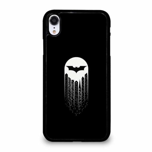 BATMAN SYMBOL BLACK AND WHITE iPhone XR Case Cover