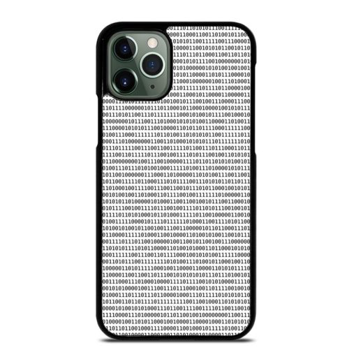 BINARY TEXTURE iPhone 11 Pro Max Case