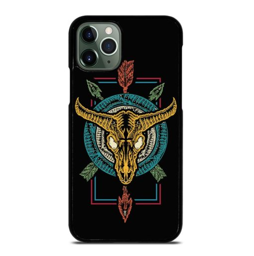 BISON SKULL ARROWS iPhone 11 Pro Max Case