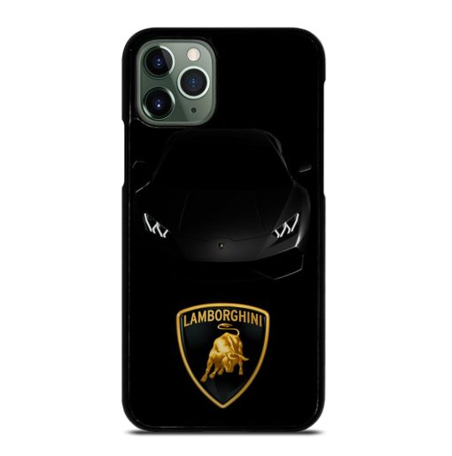 BLACK LAMBORGHINI AVENTADOR iPhone 11 Pro Max Case