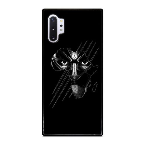 BLACK PANTHER FACE Samsung Galaxy Note 10 Plus Case