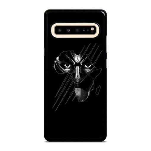 BLACK PANTHER FACE Samsung Galaxy S10 5G Case