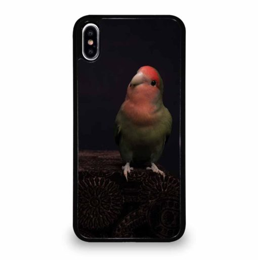 BLACK PARROT SPECIES iPhone XS Max Case Cover