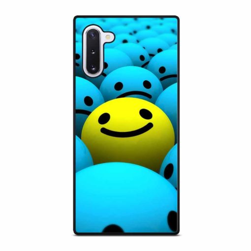 BLUE AND YELLOW EMOJI Samsung Galaxy Note 10 Case