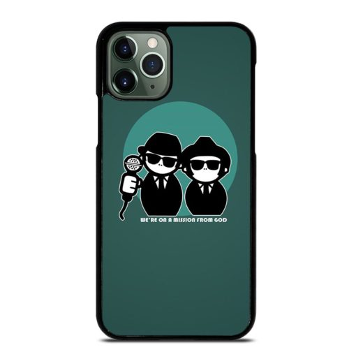 Blues Brothers Cartoon iPhone 11 Pro Max Case