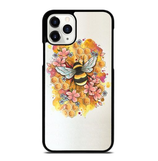 Bumble Bee Art iPhone 11 Pro Case