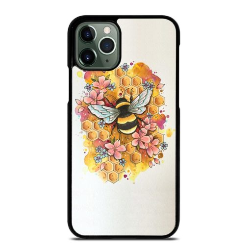 Bumble Bee Art iPhone 11 Pro Max Case