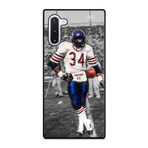 Chicago Bears Walter Payton 34 Samsung Galaxy Note 10 Case