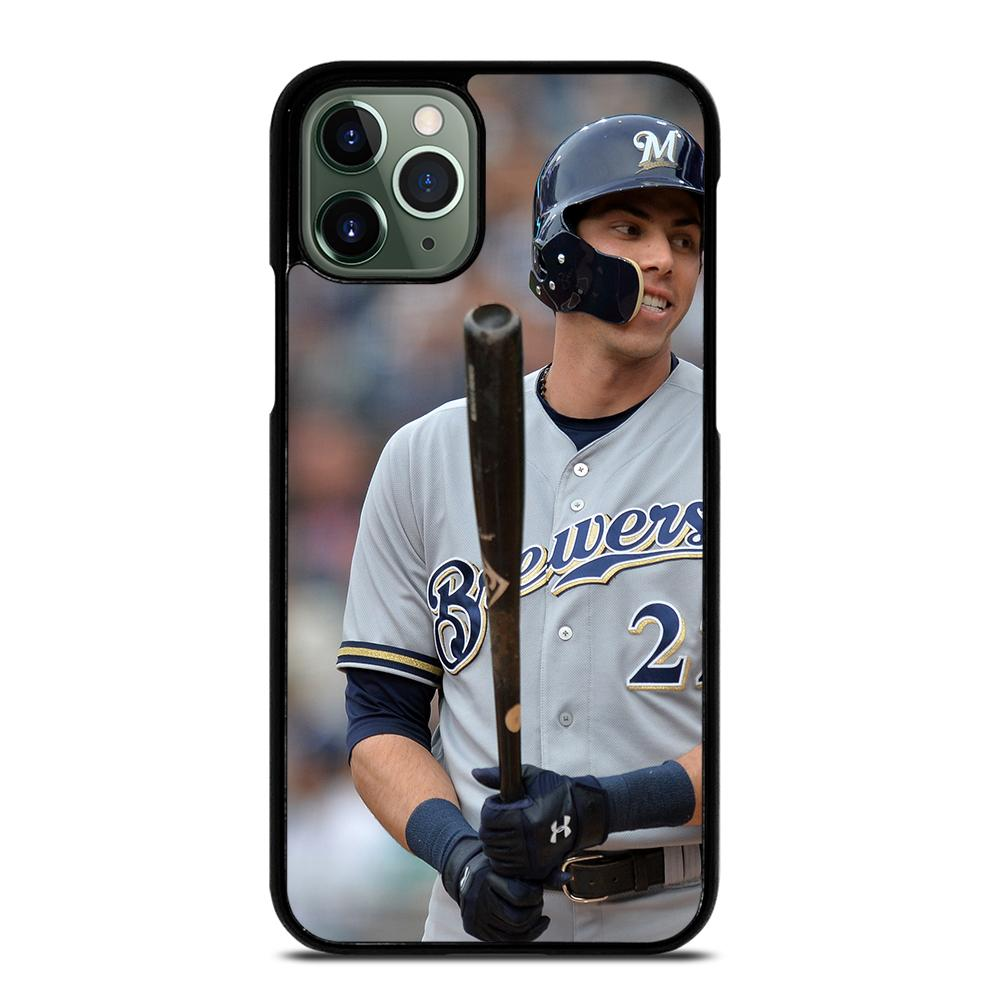 Christian Yelich Milwaukee Brewers iPhone 11 Pro Max Case