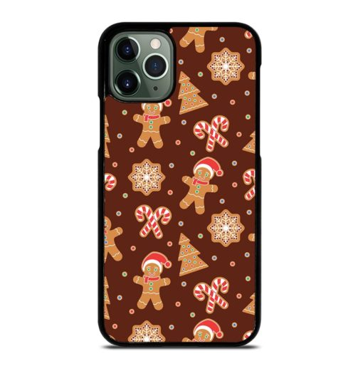 CHRISTMAS GINGERBREAD CANDY iPhone 11 Pro Max Case