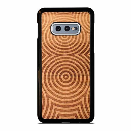 CIRCLES WOOD ART Samsung Galaxy S10e Case