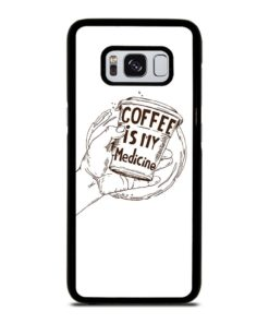 COFFEE QUOTES Samsung Galaxy S8 Case Cover