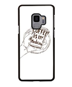 COFFEE QUOTES Samsung Galaxy S9 Case Cover