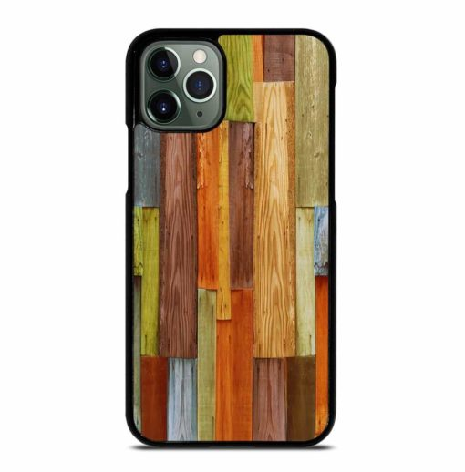 COLORFUL NATURAL WOOD iPhone 11 Pro Max Case