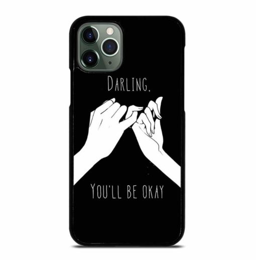 COUPLE PINKY PROMISE iPhone 11 Pro Max Case
