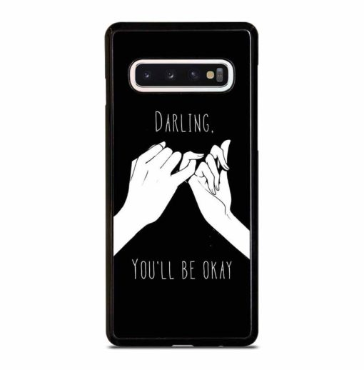 COUPLE PINKY PROMISE Samsung Galaxy S10 Case