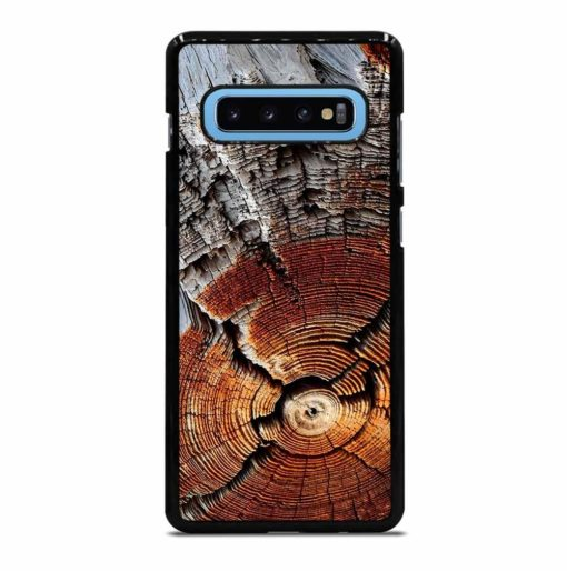CRACKED WOOD TEXTURE Samsung Galaxy S10 Plus Case