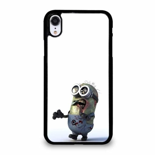 CRAZY MINIONS ZOMBIE iPhone XR Case