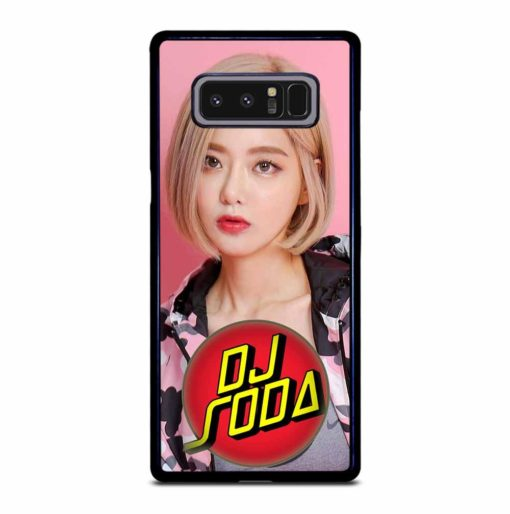 CUTE DJ SODA Samsung Galaxy Note 8 Case