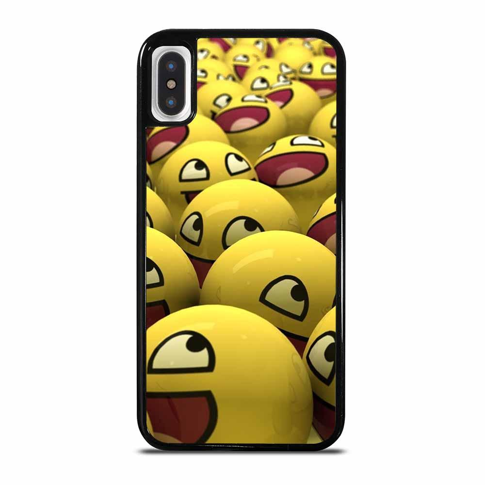 CUTE EMOJI EMOTICONS iPhone X/XS Case
