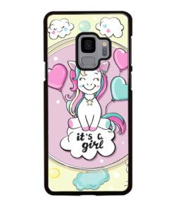 CUTE LOVE UNICORN Samsung Galaxy S9 Case