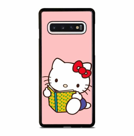 CUTE PINK HELLO KITTY Samsung Galaxy S10 Case Cover