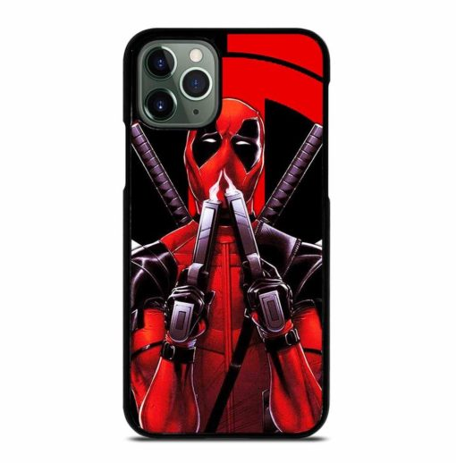 DEADPOOL AND THE BLACK PANTHER iPhone 11 Pro Max Case