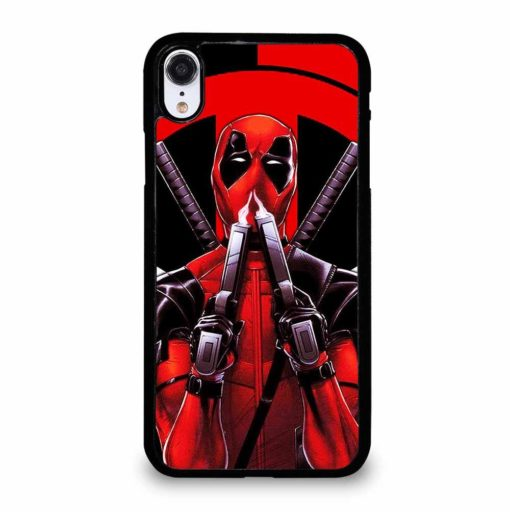DEADPOOL AND THE BLACK PANTHER iPhone XR Case Cover