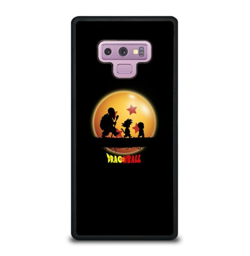 DRAGON BALL ON DARK Samsung Galaxy Note 9 Case