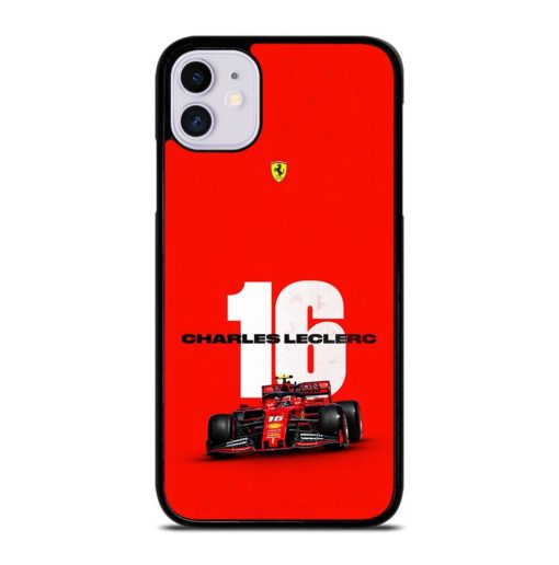 Ferrari Charles Leclerc iPhone 11 Case