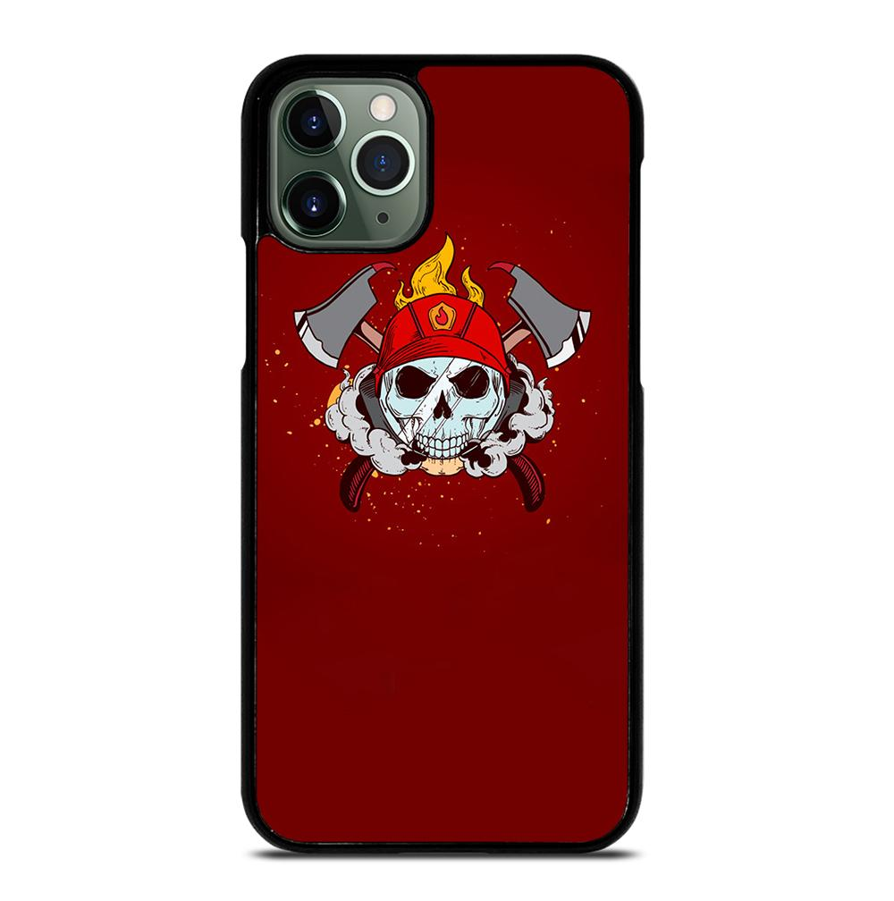FIREFIGHTER SKULL LOGO iPhone 11 Pro Max Case