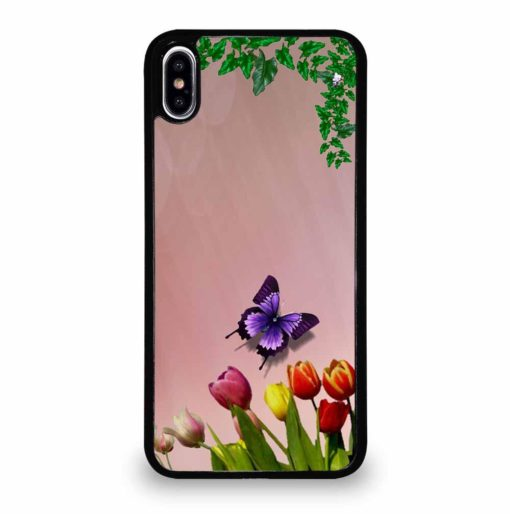 FLOWER LEAVES iPhone XS Max Case Cover