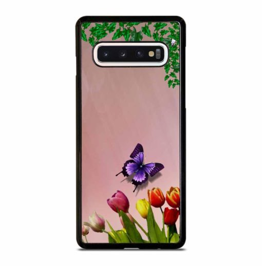 FLOWER LEAVES Samsung Galaxy S10 Case