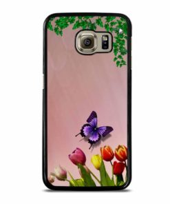 FLOWER LEAVES Samsung Galaxy S6 Case