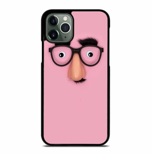 FUNNY MASK WITH NOSE PANORAMA iPhone 11 Pro Max Case