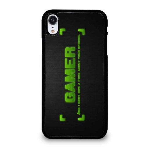 GAMER QUOTES iPhone XR Case
