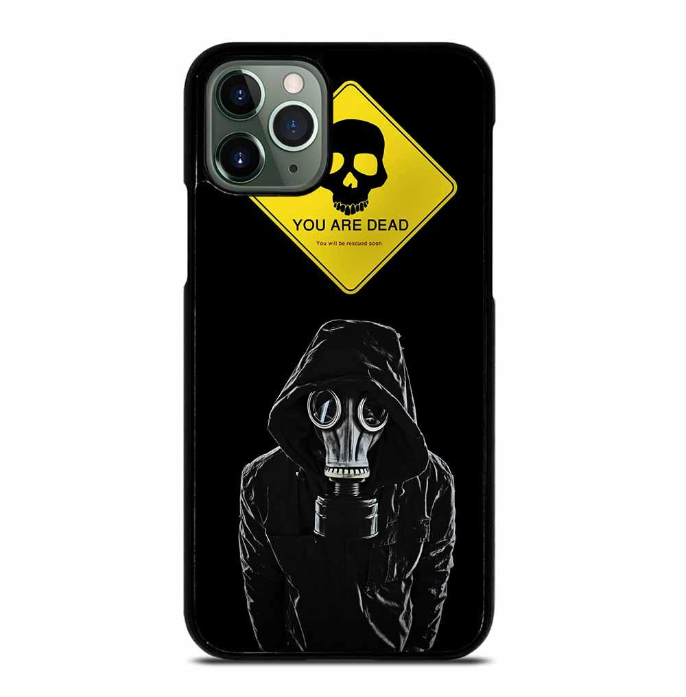 GAS MASK RESPIRATOR iPhone 11 Pro Max Case