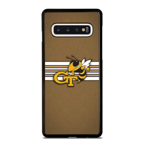 Georgia Tech Yellow Jackets Samsung Galaxy S10 Case Cover